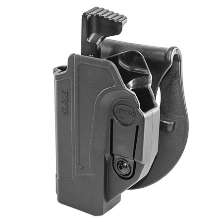 Orpaz Glock 19 Holster Fits Also Glock 17 Glock 22 Glock 26 Glock 34 Left Handed Paddle Holster