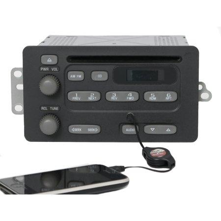 2003-2005 Pontiac Grand Am Sunfire Radio AM FM CD Player w Aux Input - 10315120 - Refurbished