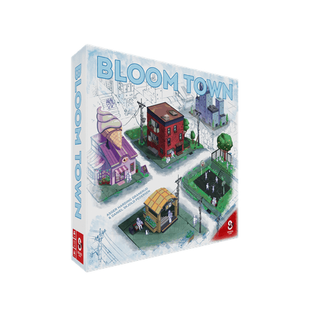 Bloom Town Strategy Board Game by Sidekick Games