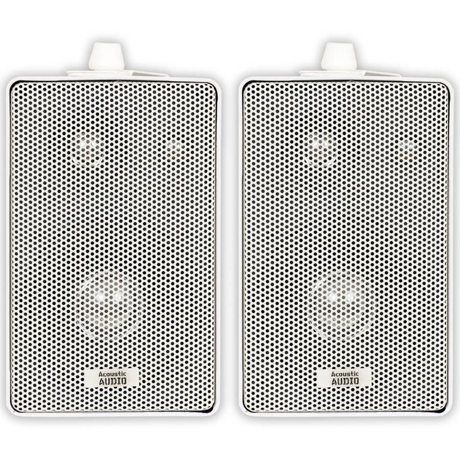 Acoustic Audio 251W Mountable Indoor/Outdoor Speakers