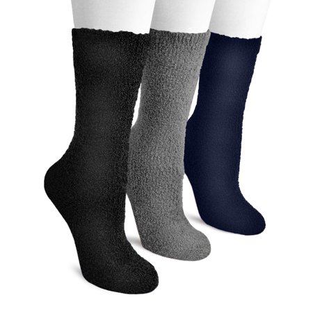 8b959d368 Muk Luks - Women's Crew Aloe Socks (3 Pair) - Walmart.com