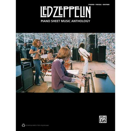 Led Zeppelin: Piano Sheet Music Anthology: Piano  /Vocal / Guitar