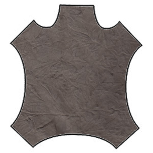 Taupe Suede Hide, Fabric By the Yard