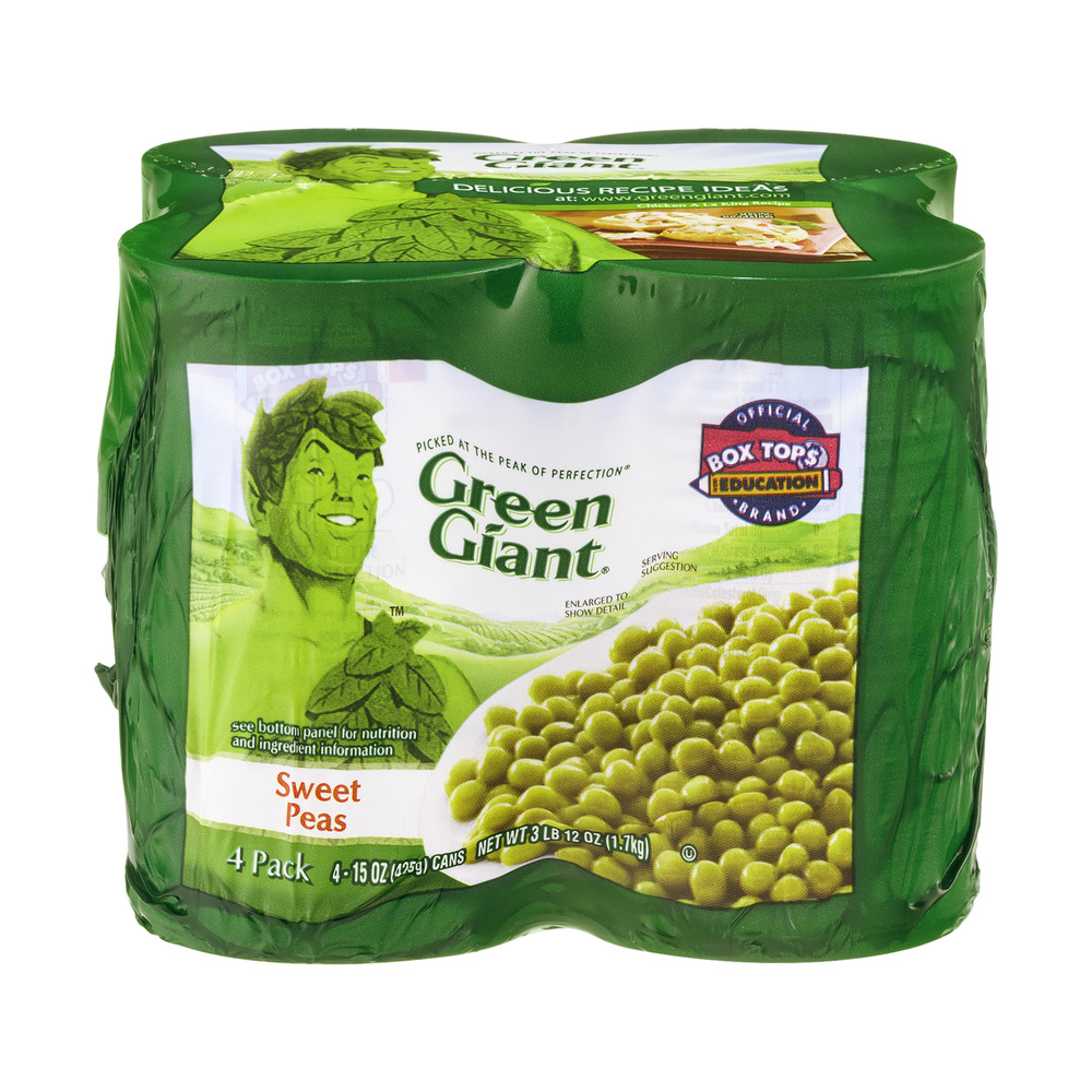 Green Giant Sweet Peas - 4 CT