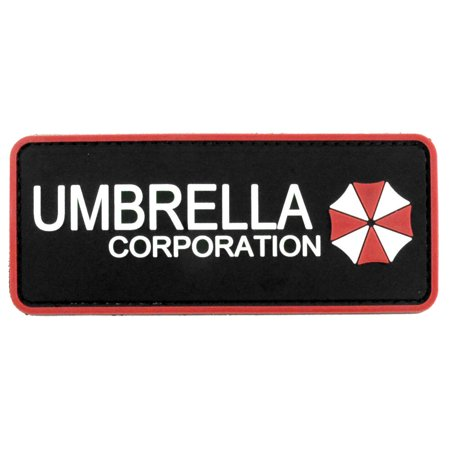 LIVABIT PVC Rubber 3D Morale Patch MP-01 Tactical Airsoft Paintball Umbrella Corporation - Durable Corporation Rubber