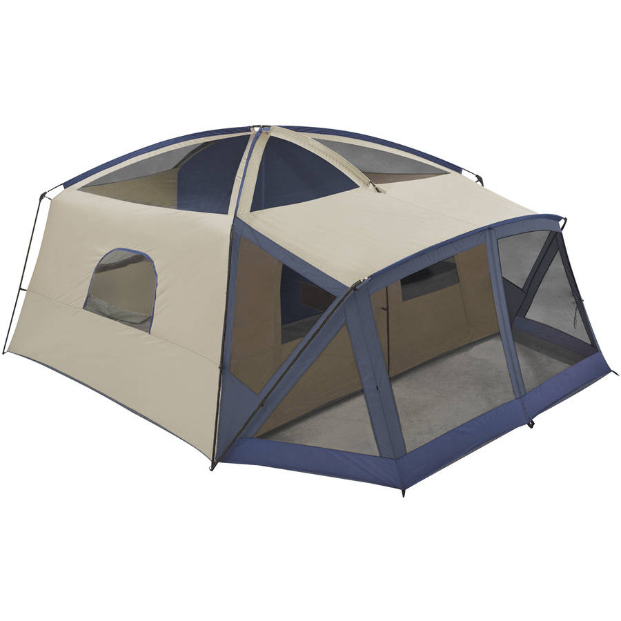 Ozark Trail 12 Person Cabin Tent With Screen Porch Ebay