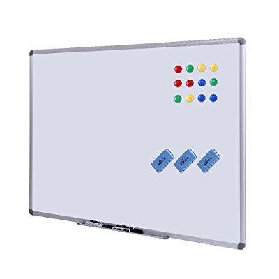 1033fc041026d Dry Erase Board - White Board 48 x 36 Magnetic Dry Erase Board with  Aluminum Frame, Large White Board Commercial Quality Wall Size White Board,  ...