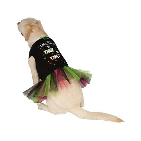 Trick Or Treat Pet Dog Cat Halloween Costume Tutu