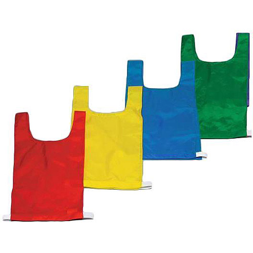 Sportime Numbered Pinnies, Full Size, Set of 12