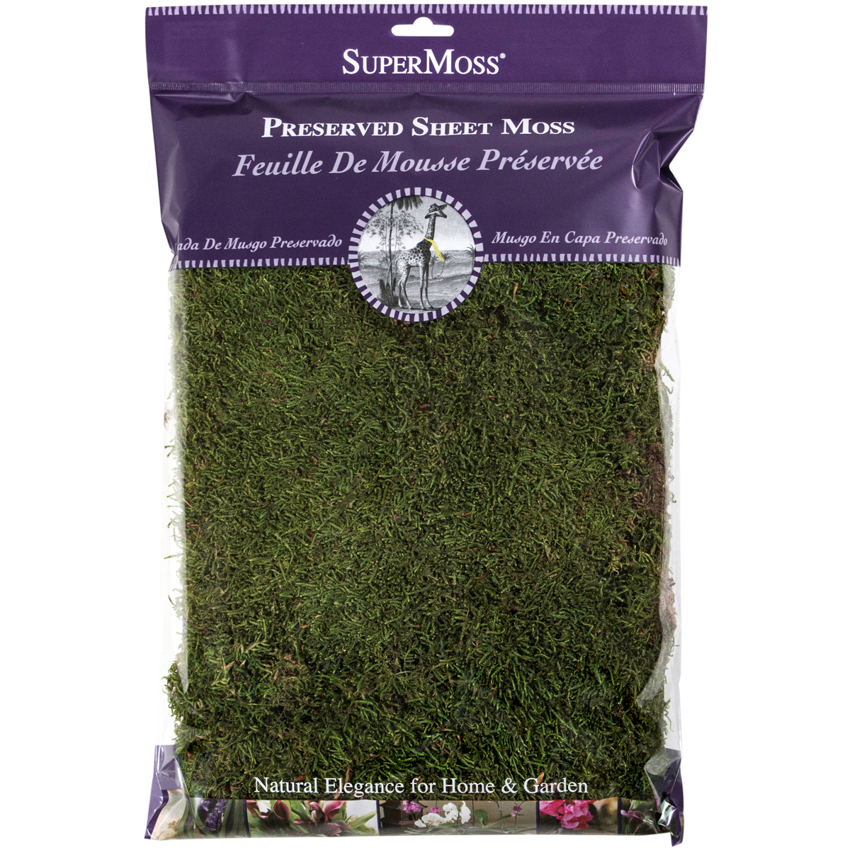 Perserved Sheet Moss 8oz-