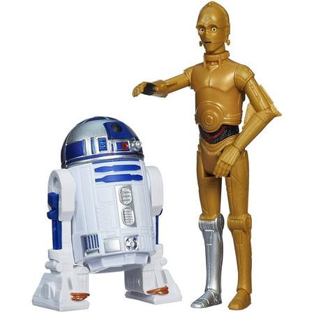 R2 D2 C-3po - Star Wars Mission Series Figure Set, C-3PO and R2-D2