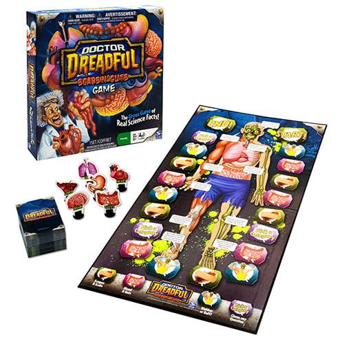 Doctor Dreadful Scabs N' Guts Board Game