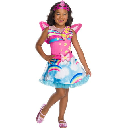 Girls Barbie Fairy Costume (Fairy Costume For Teens)
