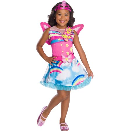 Flower Fairy Halloween Costume (Girls Barbie Fairy Costume)