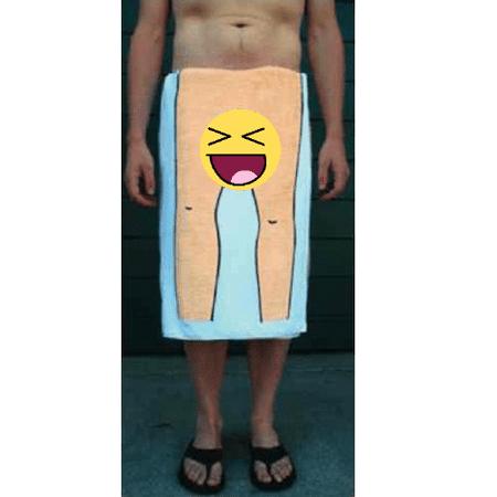 It's Always Sunny in Philadelphia Dick Towel White FX Comedy Gag Mac (Funny Trowel)