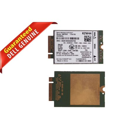 Dell DW5809E Sierra Wireless AirPrime 100Mbps LTE/HSPA+GPS WWAN CARD K2W44  P9FG8