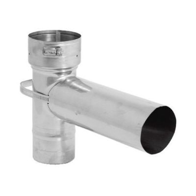 """Stainless Steel Ventinox VFT Tee with Removable Snout - 12"""""""