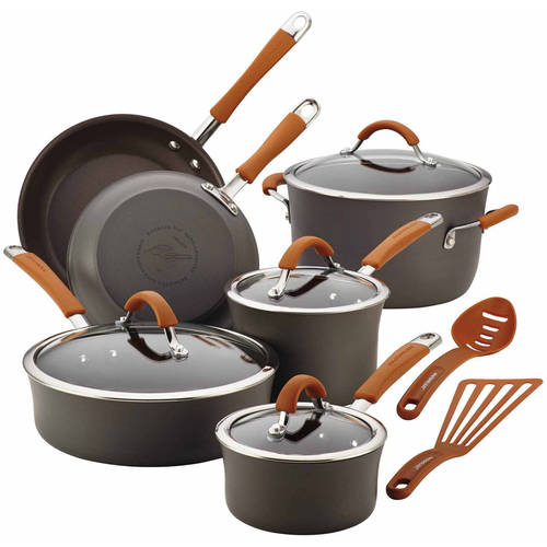 Rachael Ray Nonstick 12Pc Cookware Set