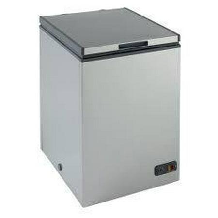 Avanti CF10016PE Chest Freezer, 3.5 cu. ft, Platinum Finish