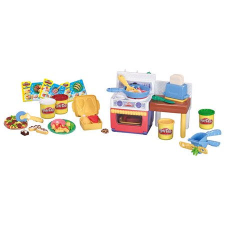 Play Doh Kitchen Creations Meal Makin Kitchen Food Set