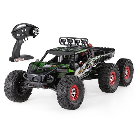 FEIYUE 2.4G High Speed Remote Control Brushless Desert Crawler Car 37M/h, Green