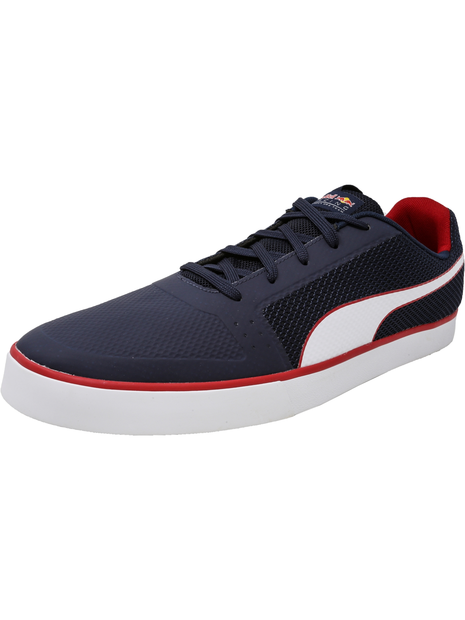 99ec9e54a22 ... amazon puma mens red bull racing wings vulc total eclipse white chinese  ankle high fashion sneaker