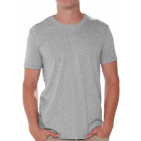 Gildan Men Grey T-Shirts Value Pack Shirts for Men - Single Tee - Pack of 6 or Pack of 12 Grey Shirts for Men Gildan T-shirts for Men Gray T-shirt Casual Shirt Basic Shirts