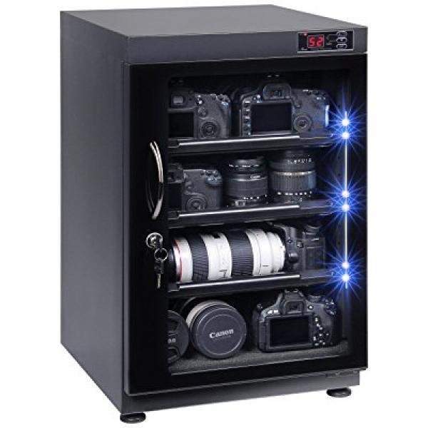T.A.P 88L Digital Control Dehumidify Dry Cabinet Box Stor...