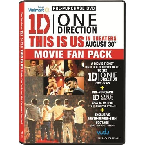 One Direction: This Is Us (Pre-Purchase DVD) (Widescreen)