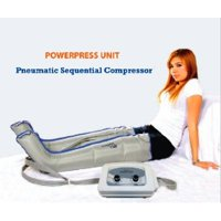 AIR SEQUENTIAL COMPRESSION LEG MASSAGER W/ XXL FULL LEG PAIR COMPLETE SET