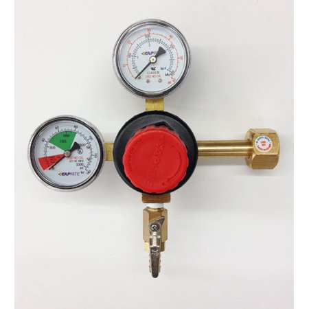 Taprite T742HP Primary High Pressure Double Guage Mixed Gas - Double Regulator