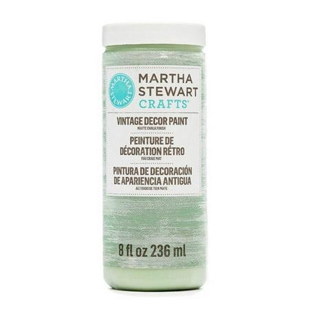 Martha Stewart Crafts Vintage Decor Matte Chalk Paint: Antique Sky, 8 - Martha Stewart Paint Colors