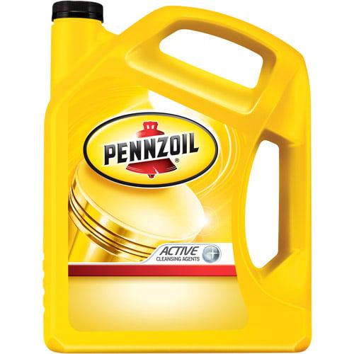 Pennzoil SAE 10W30 Conventional Motor Oil, 5-Quart
