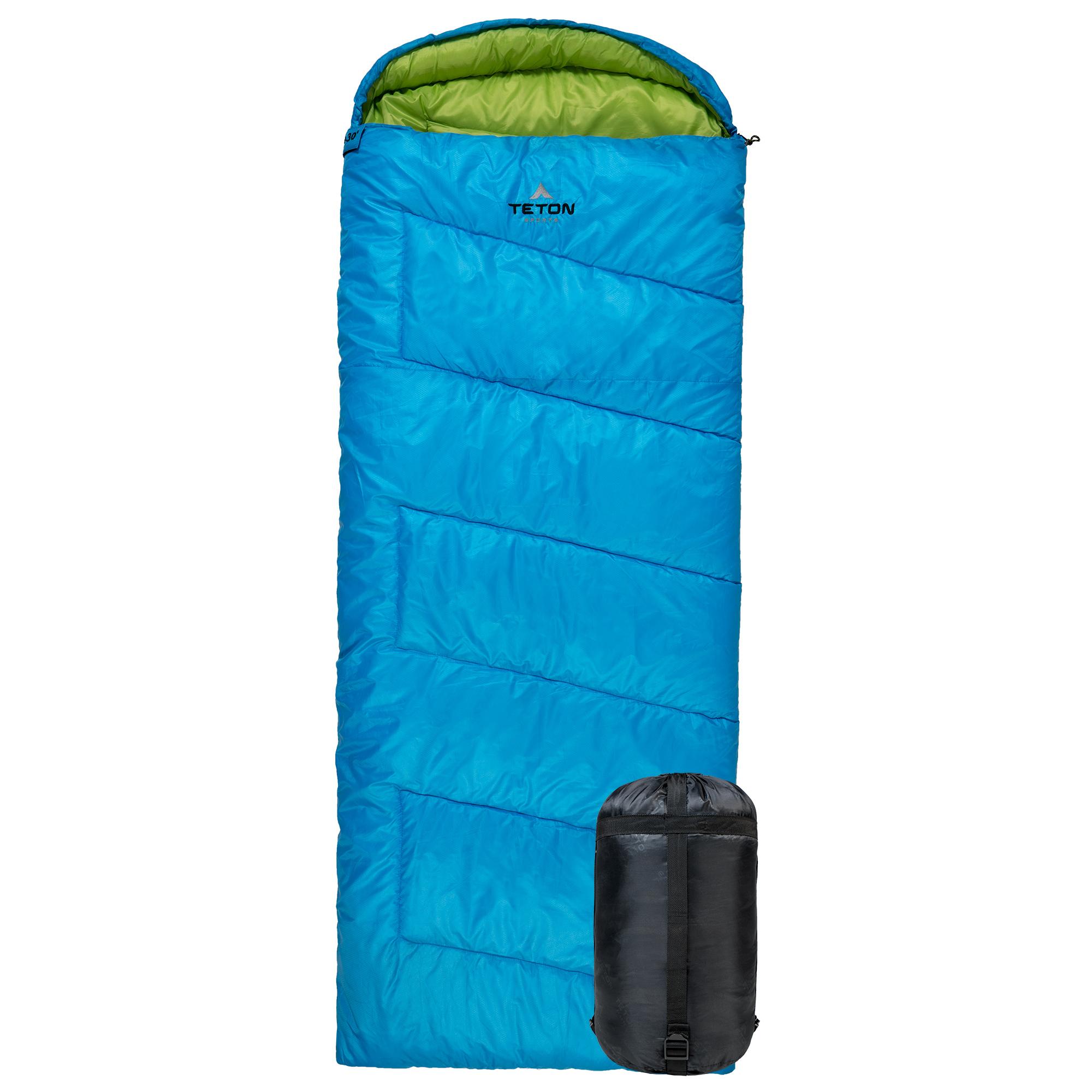 TETON Sports Cobalt 20 Degrees Rectangular Sleeping Bag