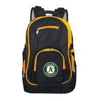 MLB Oakland Athletics Premium Laptop Backpack with Colored Trim