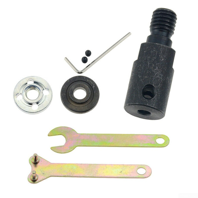 Adapter Motor Shaft Coupler M10-8mm M10-12mm Saw Chuck M10-6mm Durable