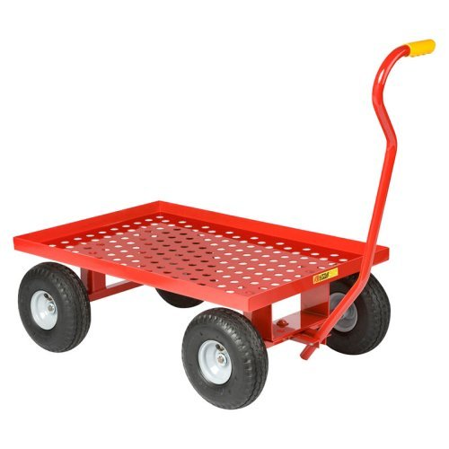 Little Giant Perforated Steel Wagon Cart