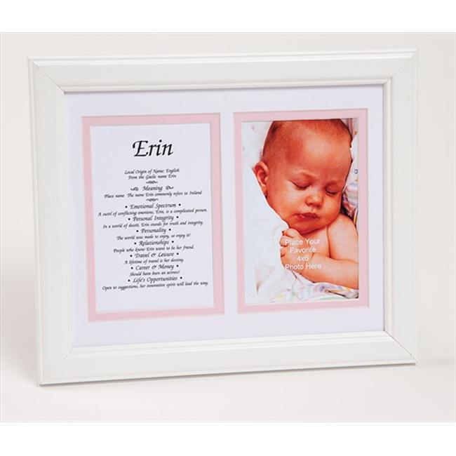 Townsend FN05Frida Personalized Matted Frame With The Name & Its Meaning - Framed, Name - Frida
