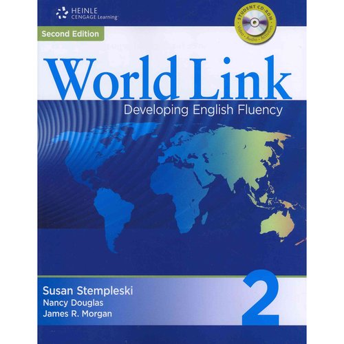 World Link 2 with Student CD-ROM: Developing English Fluency