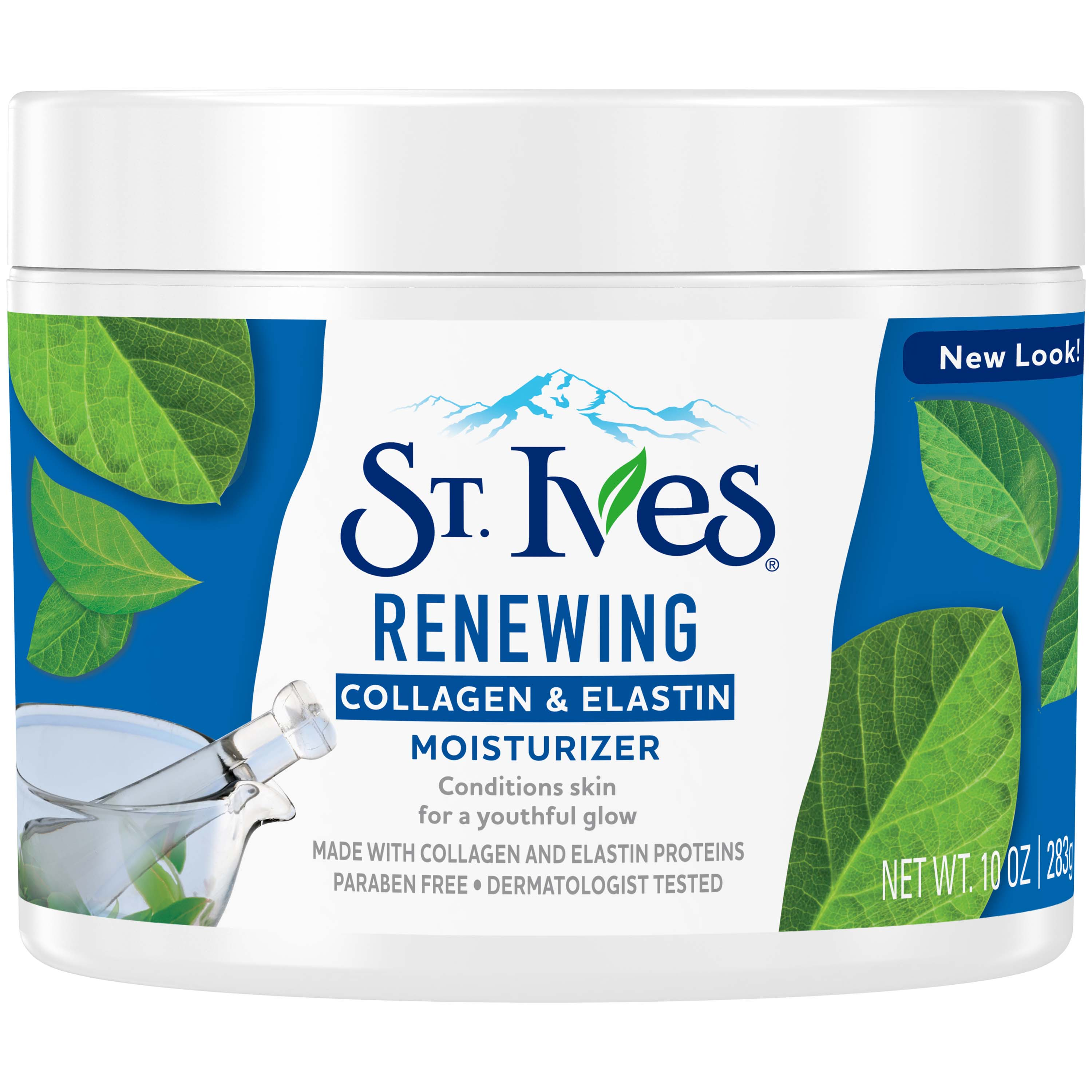 St. Ives Collagen Elastin Facial Moisturizer, 10 oz