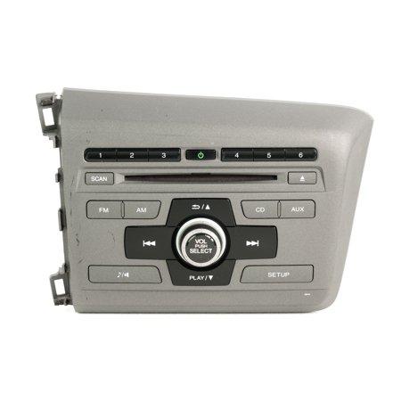 2012 Honda Civic AM FM CD Radio w XM & BT Code Included 2BC6 39100-TR0-A315-M1 - Refurbished (Xm Radio Honda Crv)