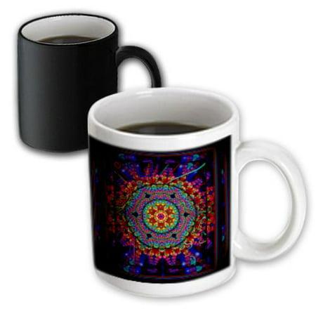 Boulder Mug (3dRose Colorado Boulder Sunset Over Flatirons, Magic Transforming Mug, 11oz )