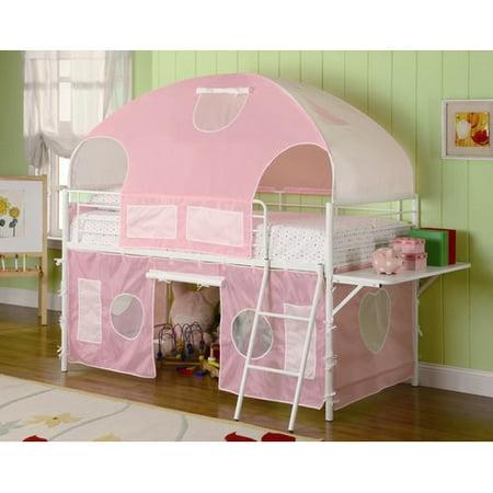 Zoomie Kids Victoria Twin Low Loft Bed Walmart Com