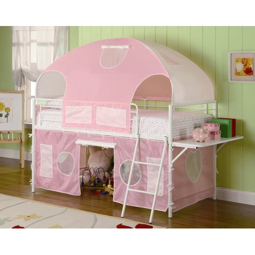 Zoomie Kids Victoria Twin Low Loft Bed