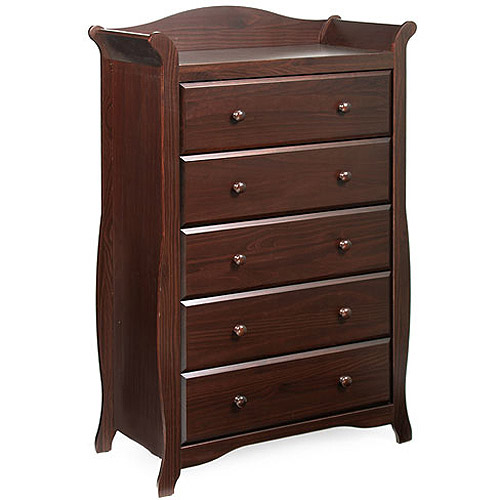 Storkcraft - Aspen 5-Drawer Chest, Choose Your Finish