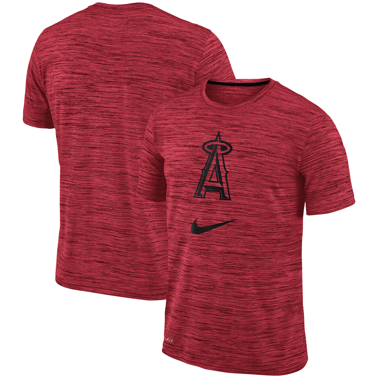Los Angeles Angels Nike Velocity Performance T-Shirt - Red