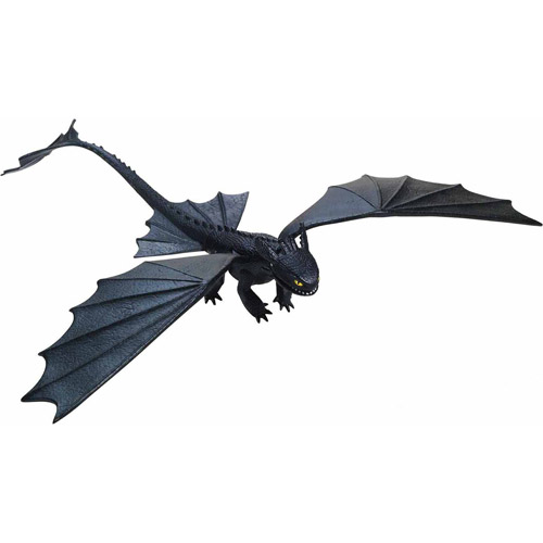 DreamWorks Dragons - Action Dragon - Missile Shooting Toothless Night Fury