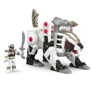 Imaginext Power Rangers White Ranger and Tiger Zord