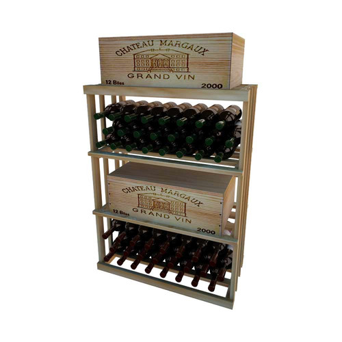 Wine Cellar Innovations 1 Column Rectangular 48 Bottle Floor Wine Rack