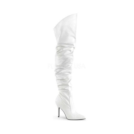 Thigh High Pleaser Boots (Women's Pleaser Classique-3011 Thigh High Slouch)